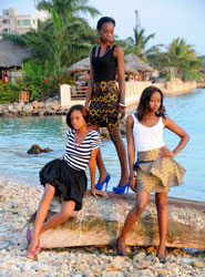 Fashion Week Zanzibar Models